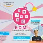 Belajar Online Marketing di Studentpreneur Hangout Surabaya Mei 2014
