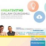 Studentpreneur Meet Up – Kreativitas Dalam Duniamu